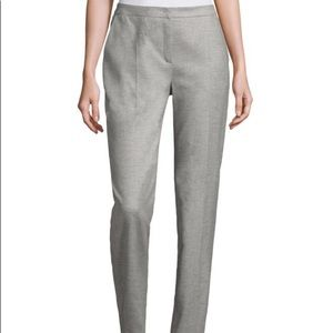 ESCADA grey straight leg trousers